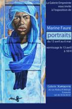 Exposition de Marine Faure : Portraits