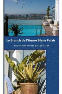 Brunch dominical de l Heure Bleue  Essaouira