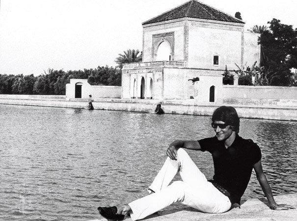 Quand marrakech inspirait yves saint laurent sur made in for Jardin yves saint laurent maroc